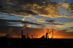 Denver, CO   2018.10.23   Colorado Flatlands Sunrise (Kaemattson) Tags: milehighcity sunrise cityscape landscape skyline denver co colorado frontrange his is ver