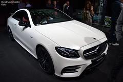 Mercedes E53 AMG Coupé (Monde-Auto Passion Photos) Tags: voiture vehicule auto automobile mercedes e53 e53amg amg coupé blanc white sportive rare rareté mondial mondialdelauto france paris evenement
