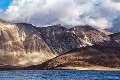 Pangong Lake, Ladakh (Mohan.Singh) Tags: pangong ladakh landscape lake mountains clouds yourbestoftoday