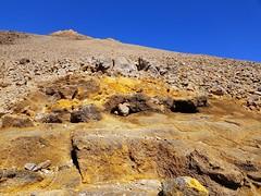 sulfur at Teide (formilock) Tags: teneriffa tenerife canaryislands canaries espana spain volcanic volcano volcanism teide picoviejo altavista teleferico montanablanca storm traverse stratovolcano stratovulkan