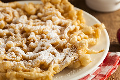 Homemade Funnel Cake with Powdered Sugar (Follow Mercy) Tags: funnelcake food fair sugar sweet dessert funnel carnival fried cake delicious tasty crispy dough plate snack powdered traditional batter treat strawberries bread round rich fattening festivals unhealthy junkfood summertime nutrition fairfood crusty