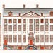 Amsterdam canal houses on the Herengracht 471-477 by Johan Teyler (1648-1709). Original from the Rijks Museum. Digitally enhanced by rawpixel.