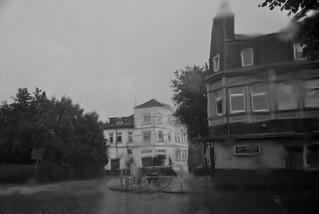 Regen in Brunsbüttel / Rain in Brunsbüttel