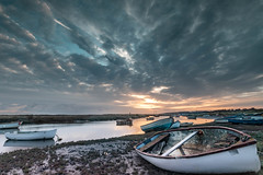 Sunrise (andybam1955) Tags: quay landscape dawn morston clouds coastal morstonquay sky northnorfolk rural boats norfolk sea