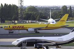 DHL 757-200F G-DHKS at Birmingham Airport - BHX/EGBB (dan89876) Tags: dhl airlines boeing 757f b752 757200 birmingham airport bhx egbb