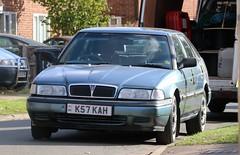 K57 KAH (Nivek.Old.Gold) Tags: 1993 rover 820 si 5door fastback