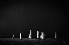 A Coruña. (Batide Machado) Tags: acoruña lacoruña coruña galicia galizia menhir menhires noche night light stars estrellas luces nightshoot longexposition nocturnal