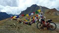 The Ibis bike at Sirsir La pass