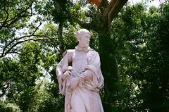 (youngkurama) Tags: vizcaya miami florida statue outdoors nature film 35mm canon 2018 art museum