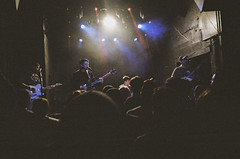 Lvl Up - Final Show (Patrick_Lynch) Tags: film 35mm kodak concert rock punk emo bands music night