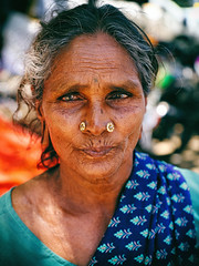 Love at infinitieth sight ;) (Prabhu B Doss) Tags: prabhubdoss travelphotography streetphotography usilampatti madurai portrait woman old grand grandma paati saree tamilnadu india fujifilm gfx50s gf3264mm