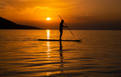 Sail away (Vagelis Pikoulas) Tags: sun sunset sea seascape canon canoe canoeing september landscape 6d tokina 2470mm view autumn october 2018 porto germeno greece europe