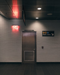 3,656 (Panda1339) Tags: 21mm wtc path cinematic nyc newyorkcity oculus faded sign subway usa 45 face