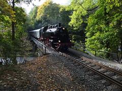 Erzgebirgische Aussichtsbahn Oktober 2018 (littleRedDaemon) Tags: eisenbahn erzgebirge annabergbuchholz dampflokomotive dampflok eab