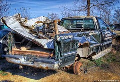Another View (PhotosToArtByMike) Tags: hostetterssalvageyard pickuptruck shippensburg pennsylvania pa salvage usedparts car truck parts vehicle shippensburgpennsylvania scrapmetal boroughofshippensburg centralpennsylvania cumberlandvalley franklincounty
