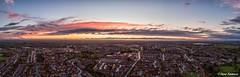 Autumn sunset (Steve Samosa Photography) Tags: sunset autumn merseyside prescot whiston rainhill aerial aerialview aerialphotography aerialshot england unitedkingdom gb dronecamera drone droneshot droneview
