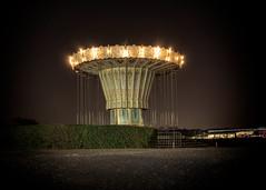 carousel (Krzysztof Krr) Tags: sony a6000 nex selp1650 poznan poznań malta nigth carousel