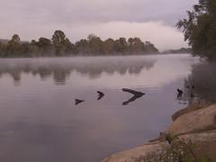 CRW_2157 (David J. Thomas) Tags: bethesda arkansas whiteriver clouds fog farms fields roads dawn sunrise morning