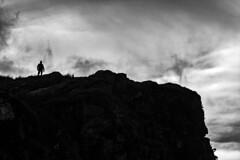 Silhouette (tomdavies19) Tags: landscape blackandwhit mountain clouds monochrome wales uk nikon nikond7200 d7200 machloop outdoor silhouette explore