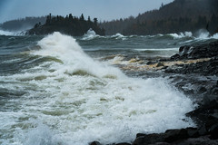Lake Superior 20181010-DSC00453-2 (Prairieworks Pictures) Tags: ellingsonisland greatlakes island lake lakesuperior littletwoharbors minnesota northshore windstorm a7r2 sony waves
