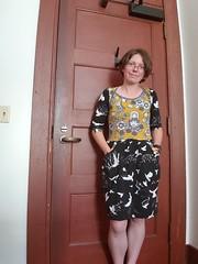 First day of work (quinn.anya) Tags: quinn dress matryoshka sewing