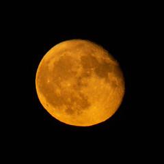 Waning Gibbous Moon rising 26 Oct 2018 (Sculptor Lil) Tags: moonrise moon waninggibbous canon700d london
