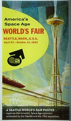 Space Needle Poster - History (dirklie65) Tags: poster space needle seattle 1962