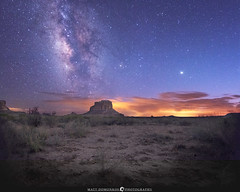 Chaco Night Sky (MTD Photos) Tags: chacocanyon milkyway nmsky newmexico astrophotography bluehour butte desert landscape mattdomonkos nature nightsky nightscape sky space stargazing stars