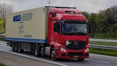 AS66571 (18.05.02, Motorvej 501, Viby J)DSC_6077_Balancer (Lav Ulv) Tags: 246395 mercedesbenz actros actros963 actros2545 e6 euro6 red nagelgroup nageldanmark 6x22 2015 refrigeration kühltransporte køletransport truck truckphoto truckspotter traffic trafik verkehr cabover street road strasse vej commercialvehicles erhvervskøretøjer danmark denmark dänemark danishhauliers danskefirmaer danskevognmænd vehicle køretøj aarhus lkw lastbil lastvogn camion vehicule coe danemark danimarca lorry autocarra danoise vrachtwagen motorway autobahn motorvej vibyj highway hiway autostrada trækker hauler zugmaschine tractorunit tractor artic articulated semi sattelzug auflieger trailer sattelschlepper vogntog oplegger 3axletrailer