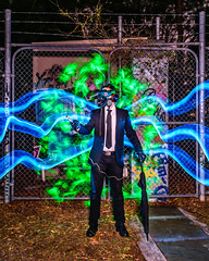 Cataclysmic Tentacles (stephenk1977) Tags: australia queensland qld brisbane nikon d3300 light painting art photography cataclysm post apocalypse apocalyptic tentacle blade blading lightblade brush fibre fiber optic brushes