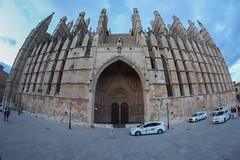 29.Catedral de Santa Maria, Palma de Mallorca. (Manupastor43) Tags: gótico arquitectura santamaria catedral palmademallorca españa 8mm samyang 200d eos canon