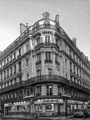 Pignon sur Rue III (marc.barrot) Tags: bw urban landscape pignon corner street batignolles montdore paris 75017 france monochrome
