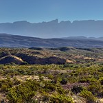 Looking Across the Desert Landscape of Big Bend National Park thumbnail
