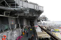 2018-090349 (bubbahop) Tags: 2018 amtraktrip sandiego usa california ussmidway museum cv41 aircraftcarrier island flight deck ship navy