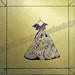 """Aloha Dress"" by Linda G, acrylic, $75.00"