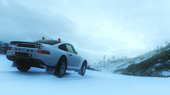 959 (nuvoIari) Tags: forzamotorsport horizon4 porsche 959 prodrive rallyraid rally racecar snow sky winter clouds