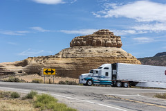 Truck Traffic Speeding by (dcnelson1898) Tags: canyonlandsnationalpark utah americansouthwest america usa unitedstates desert park nationalpark nationalparkservice travel drive vacation