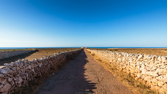Lighthouse path (Nicola Pezzoli) Tags: menorca baleares baleari island nature spain sea minorca isola lighthouse far punta nati sunset light path road street