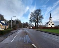 20181209 01 Grootegast (Sjaak Kempe) Tags: 2018 winter december sjaak kempe motorola moto g5 plus nederland netherlands niederlande provincie groningen grootegast church kerk kirche