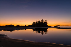 Tofino Sunset 3 (josullivan.59) Tags: 2018 artistic bc britishcolumbia canada island pacific tofino vancouverisland backlit beach blue clear colors evening goldenhour lantern light lightanddark longexposure minimalism nature nicelight night orange outdoor outside pond reflection sand scenic sea seashore shore sky sunset travel trees wallpaper water weather