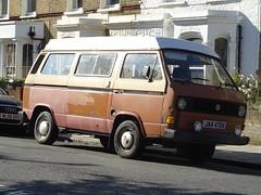 1982 Volkswagen Transporter Camper Van (Neil's classics) Tags: vehicle 1982 volkswagen transporter camper van vw t3 t25 camping motorhome autosleeper motorcaravan rv caravanette kombi mobilehome dormobile