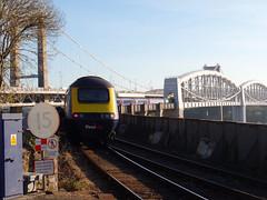 43192 Royal Albert Bridge (1) (Marky7890) Tags: gwr 43192 class43 hst 1a80 royalalbertbridge railway saltash cornwall cornishmainline train