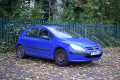 2002 Peugeot 307 Style HDI (>Tiarnán 21<) Tags: peugeot 307 hdi blue royal ilz 9208