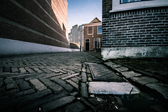 lines and perspective (bjdewagenaar) Tags: photography photograph photographer photooftheday sony sonyalpha sonyphotographer sonyimages sonya77ii sonya sigma wideangle ultrawideangle city cityscape urban pavement lowangle lowperspective perspective lines holland dutch gorinchem gorcum raw lightroom avril
