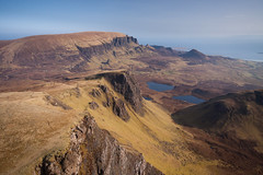Trotternish, Isle of Skye (Kieran Campbell) Tags: hebrides flying paragliding scotland aerial highlands skye alba