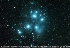 Pleiades (achrntatrps) Tags: atlantiden atlantiaden sevensisters messier45 siebengestirn taube siebenschwestern gluckhenne m45 d5300 suivi nikkor200400f4 pleiads subaru plejaden pléiades nightshot nikon photographe photographer alexandredellolivo dellolivo lachauxdefonds suisse nuit night nacht galaxie galaxy achrntatrps achrnt atrps radon200226 radon etoiles stars sterne estrellas stelle astronomie astronomy nicht noche notte astrophotographie twin1isr2 eosforastro skywatchereq6rpro