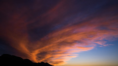 Fire In The Sky (MarxschisM) Tags: sunset clouds sky