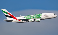 A6-EOK - Airbus A380-861 - LHR (Seán Noel O'Connell) Tags: emirates a6eok airbus a380861 a380 a388 heathrowairport heathrow lhr egll dxb omdb ek2 uae2 aviation avgeek aviationphotography planespotting