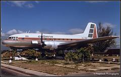CU-T816 / SCU 09.1989 (propfreak) Tags: propfreak slidescan mucu scu santiagodecuba cut816 ilyushin il14m cubana il14