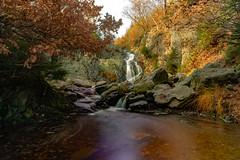 Waterfall of bayehon - Belgium (jamessensor) Tags: waterfall fall tree autumn automne